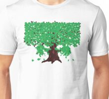 Oak with green leaves Unisex T-Shirt
