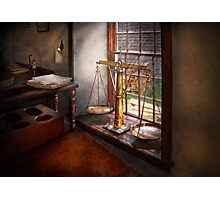 Lawyer - Scales of Justice Photographic Print