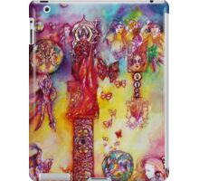 GARDEN OF THE LOST SHADOWS ,FAIRIES AND BUTTERFLIES iPad Case/Skin