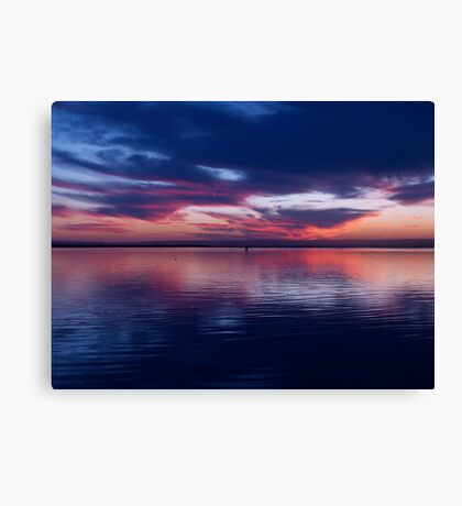 Mirror Blue Canvas Print