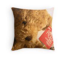 Teddy's Loney Throw Pillow
