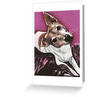 Jack Russel Terrier Greeting Card