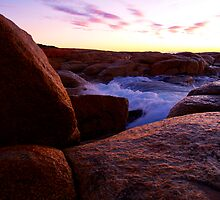 Water on Rock by daniel-luke