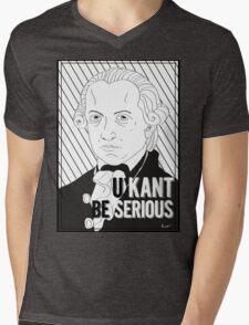 U Kant be serious Mens V-Neck T-Shirt