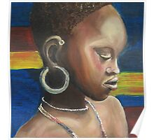 African face Poster