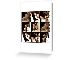 Sepia Infrared effect. Greeting Card