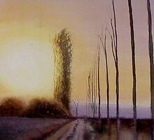 Poplar trees by Fee Dickson