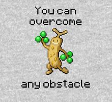 Sudowoodo #185 - You can overcome any obstacle Unisex T-Shirt