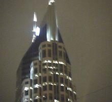 Foggy Bat Building by Debbi Tannock