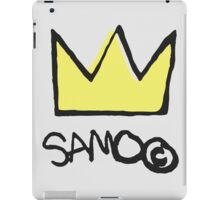 Basquiat SAMO Crown iPad Case/Skin
