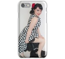 Sassy stocking wearer iPhone Case/Skin