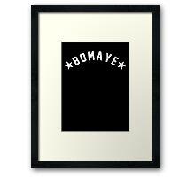 BOMAYE Framed Print