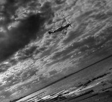 Spitfire at Reculver by Tim Emmerson