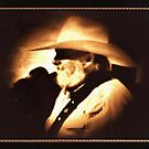 """""""Country Legend ... """"The Southern Boy""""' in a matted and framed presentation for prints and products by © Bob Hall"""
