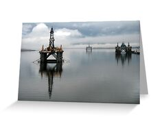 Cromarty Firth In The Mist Greeting Card