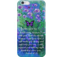 I Am Here by Sherri Nicholas iPhone Case/Skin