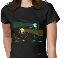 Looking Aliens Womens Fitted T-Shirt