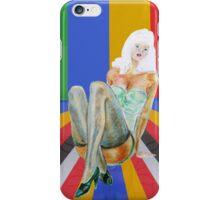 retro popart design stilettos iPhone Case/Skin