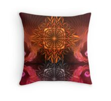 Stars and curls Throw Pillow
