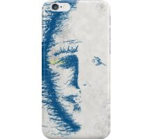 face erode iPhone Case/Skin
