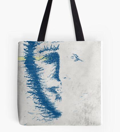 face erode Tote Bag