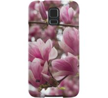 magnolia blooming  on tree Samsung Galaxy Case/Skin