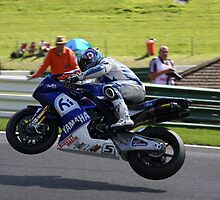 High Flyer, karl Harris on his yamaha YZF R1, BSB 2008 by 1throughmyeyes