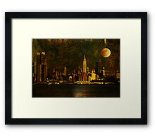 And the Stars Fell One-by-One Framed Print