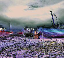 les troix bateaux by davidautef