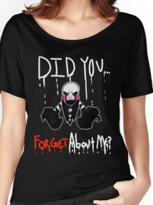 Marionette- Did you... Forget about me? Women's Relaxed Fit T-Shirt