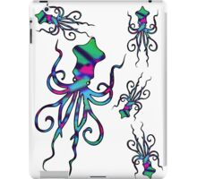 Colourful Squids | Fill iPad Case/Skin