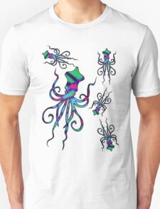 Colourful Squids | Fill T-Shirt