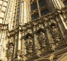 Houses of Parliament Stonework by Roberto Herrett