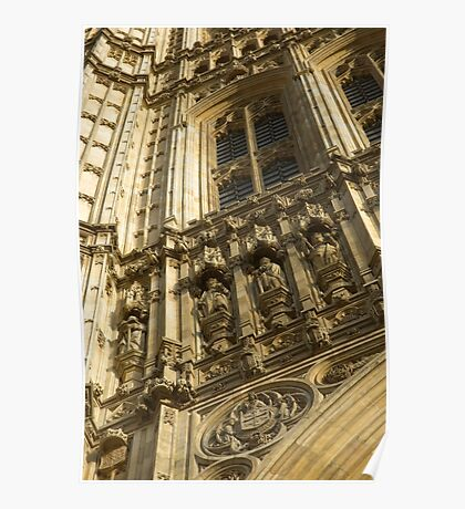 Houses of Parliament Stonework Poster