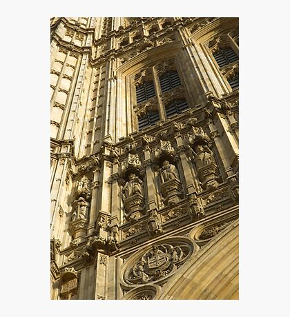 Houses of Parliament Stonework Photographic Print