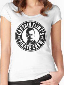 Captain Flints Pirate Crew Women's Fitted Scoop T-Shirt