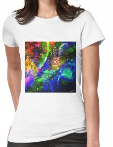 """ The earth is my homeland, the human race my nation. "" Womens Fitted T-Shirt"