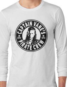 Captain Vanes Pirate Crew Long Sleeve T-Shirt