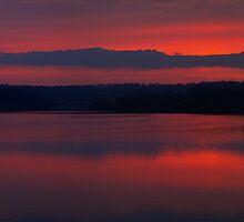 Red Sky At Night... by Ollie de Brett