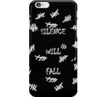 Doctor Who -Silence Will Fall iPhone Case/Skin