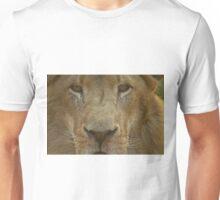 Lion portrait up close Unisex T-Shirt
