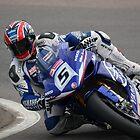 Karl Harris on his Yamaha YZF R1, 2008 BSB by 1throughmyeyes