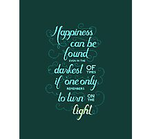 Harry Potter - Dumbledore Quote  Photographic Print