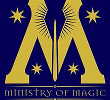 Harry Potter - Ministry of Magic Symbol by TylerMellark