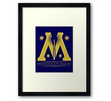 Harry Potter - Ministry of Magic Symbol Framed Print