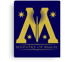 Harry Potter - Ministry of Magic Symbol Canvas Print