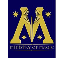 Harry Potter - Ministry of Magic Symbol Photographic Print