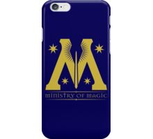 Harry Potter - Ministry of Magic Symbol iPhone Case/Skin