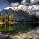 Jenny Lake at Grand Tetons I by steini