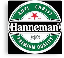 Jeff Hanneman - Heineken Canvas Print